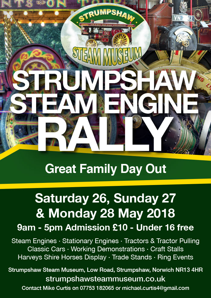 Events at Strumpshaw Hall 2015