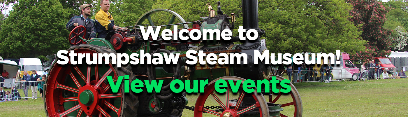 Strumpshaw Steam Museum Events
